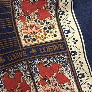 Loewe vintage scarf
